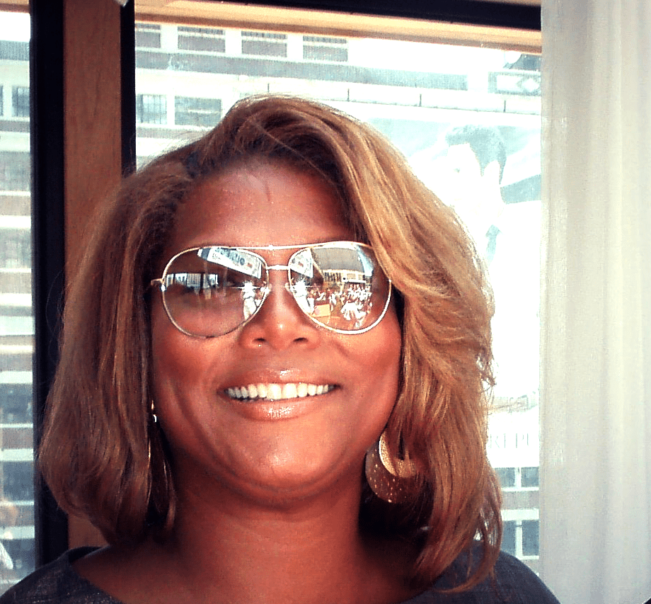 Queen Latifah in sunglasses